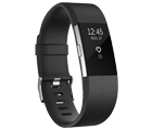 Fitbit Charge HR 2 Black Free with mobile phones