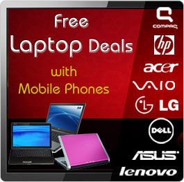 Free Laptops with contract Phones