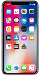 Apple iPhone X 64GB Silver Contract Phone
