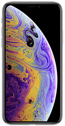 Apple iPhone XS 64GB Silver Contract Phone